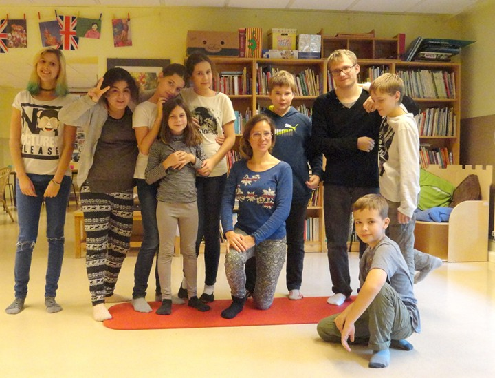 Theaterworkshop mit Rita Hatzmann